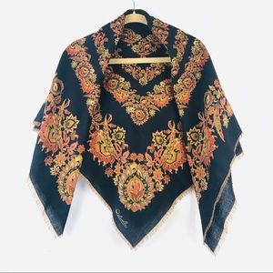 ostinelli piera bruna Firenze vintage square scarf